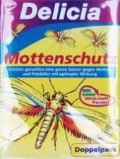 Delicia Mottenschutz бумажные листы от моли 2x10