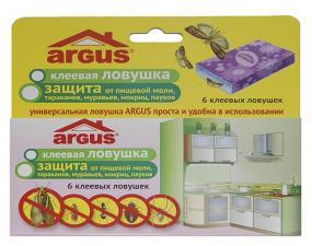 Argus клеевая ловушка универсальная 6 штук