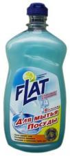 Flat бальзам для мытья посуды с лимоном