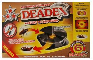 Дохлокс DEADEX диски от тараканов 6 штук